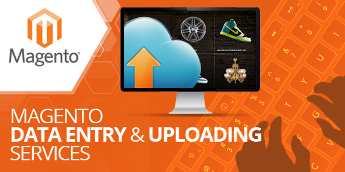 magento product upload services