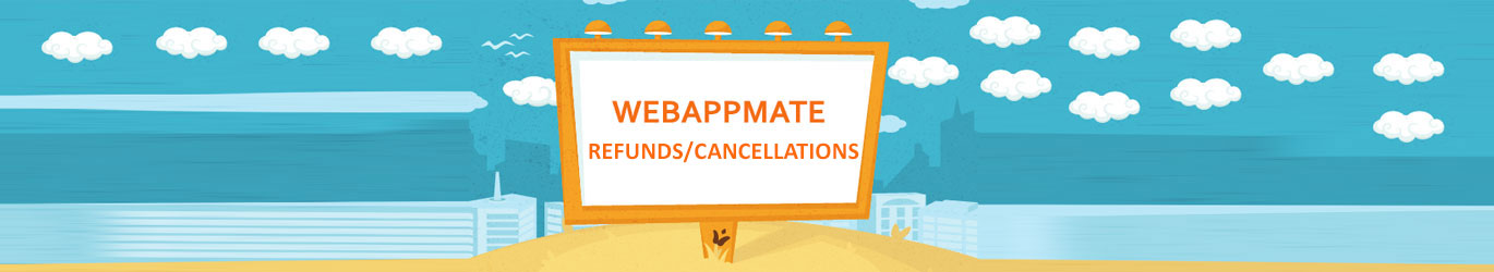 webappmate refunds